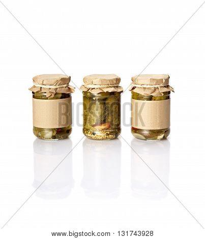 Pickles In Jars