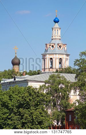 The monastery of St. Andrew, Moscow, Russia
