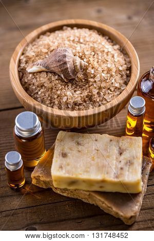Salt, Oil And Soap