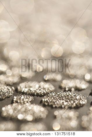 ABSTRACT, RAISED, GOLD PATTERN, CLOSEUP BACKGROUND