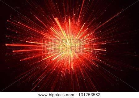 SPEED EFFECT , BLACK AND RED SPARKLING ABSTRACT BACKGROUND