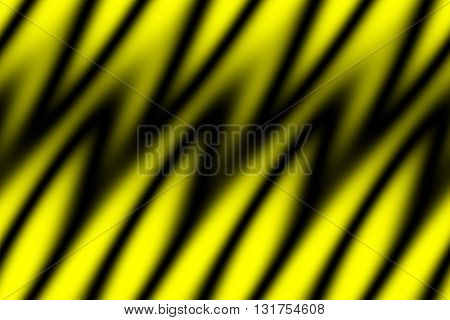 Illustratio background of yellow and black flames