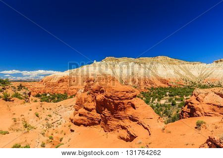 Kodachrome Basin State Park, Angels Palace Trail, Utah, Usa.