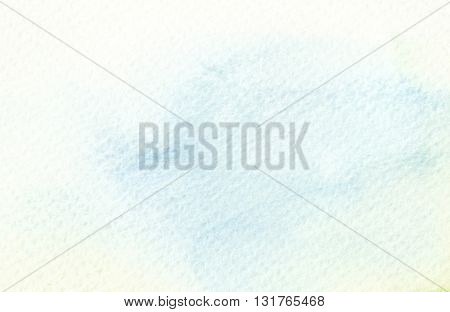 faded light tones abstract blue yellow watercolor background