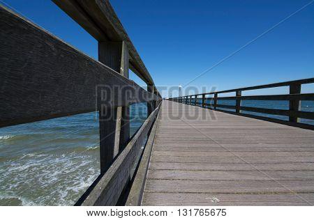 Pier In Binz, Germany