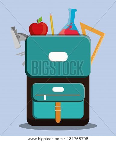 School  concept with icon design, vector illustration 10 eps graphic.