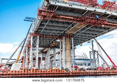 Cable-stayed Bridge Construction