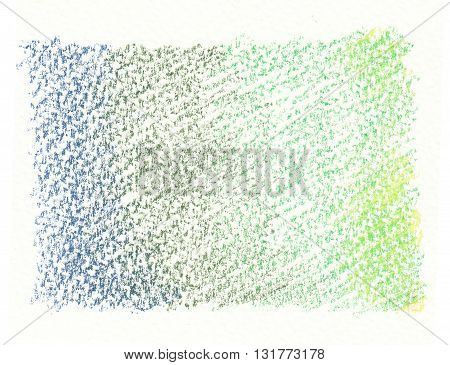 blue green shading abstract crayon doodle background