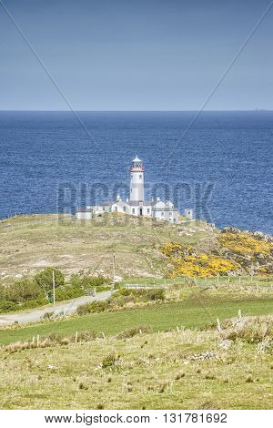 An image of the Fanad Head lighthouse in Ireland