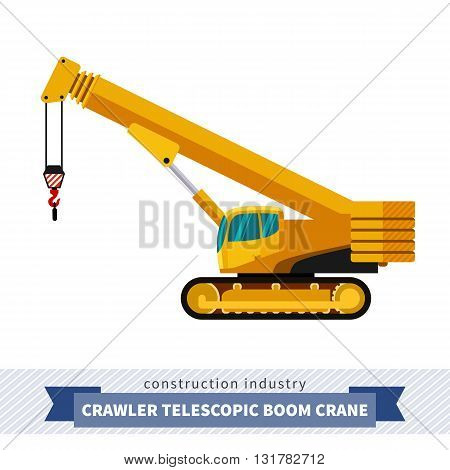 Crawler Telescopic Boom