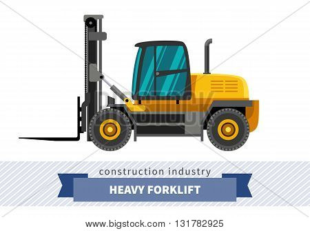 Heavy Forklift Industrial Crane