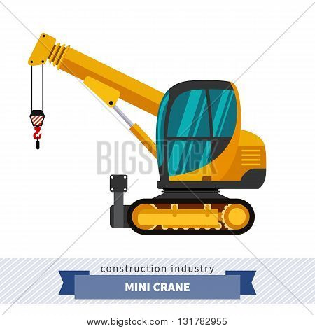 Crawler Telescopic Boom Mini Crane