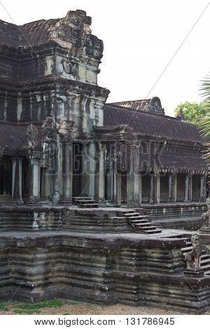 Entrance Of Angkor Wat