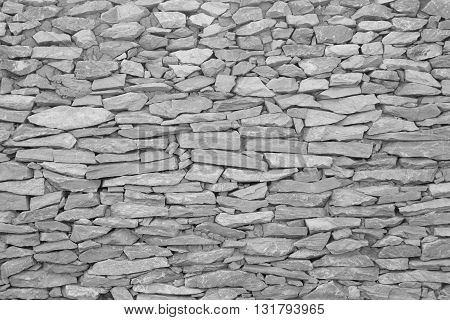 stone wallThe walls are made of stone