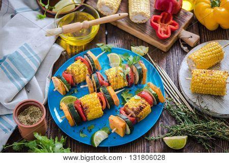 Bbq Garden Picnic Healthy Food