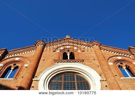 Viboldone Abbey Facade