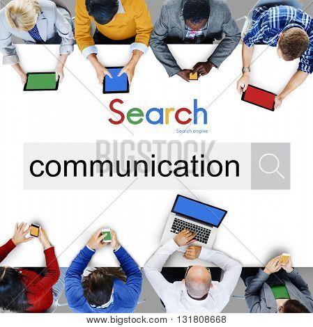 Communication Conversation Interaction Connect Concept