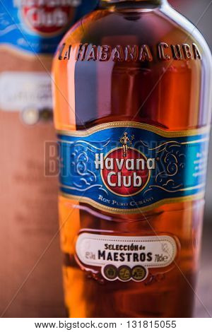 Bottle Of Havana Club Rum.