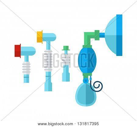 Shower cartoon flat vector illustration.