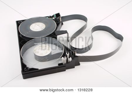 Disassembled Video Tape