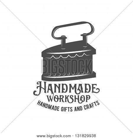 Tailor labels, badges, design elements and emblems. Shop design elements vector.