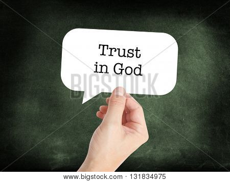 Praise the lord written on a speechbubble