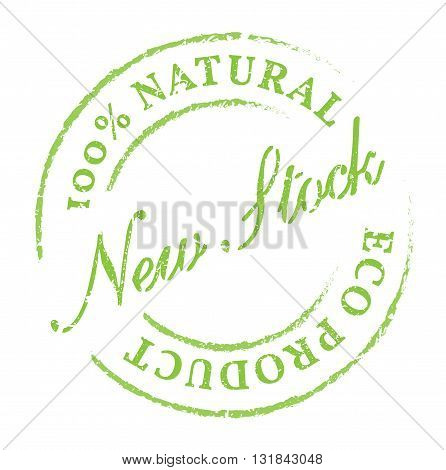 New Stock Eco Product Stamp
