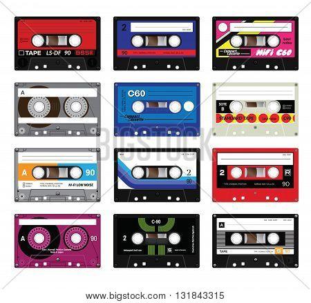 Vintage Cassette Tapes Vol 5