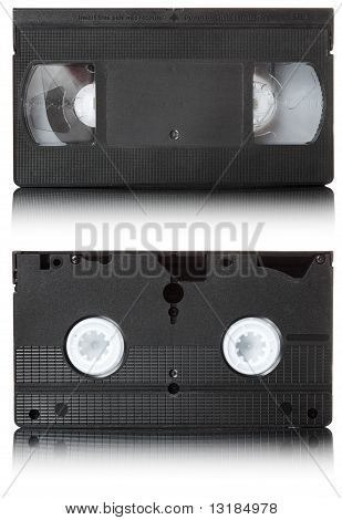 Vhs Video Tape | Isolated