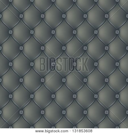 Vector abstract upholstery dark gray background. Can be used in cover design book design website background CD cover advertising.