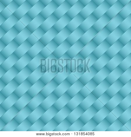 Minimalistic concept modern style wallpaper with geometric seamless pattern blue background