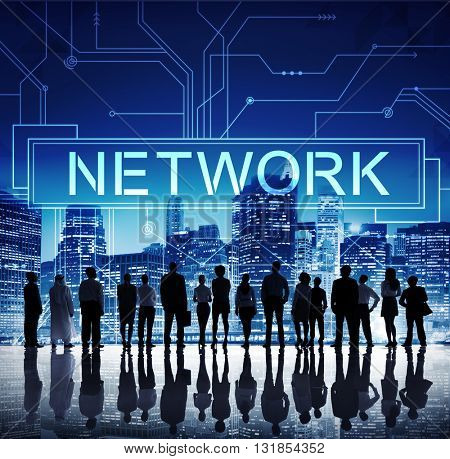 Network Internet Online Technology Future Concept