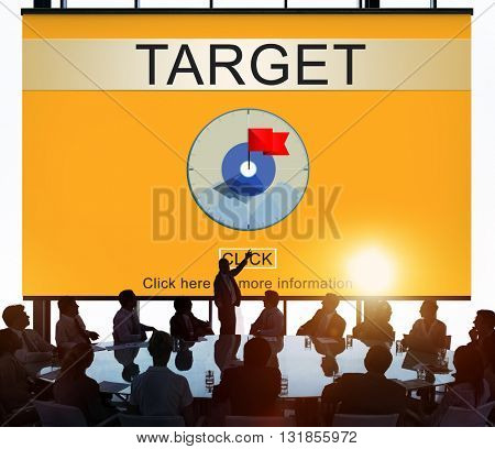 Target Aim Goal Objective Potential Value Vision Concept