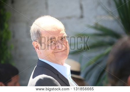 CANNES, FRANCE - MAY 20:  Pierre Lescure attends the Mayor's lunch given in honour of the media at Place de la Castre during the 69th Cannes Film Festival on May 20, 2016 in Cannes, France.