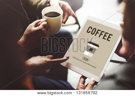 Coffee Cup Hot Beverage Morning Concept
