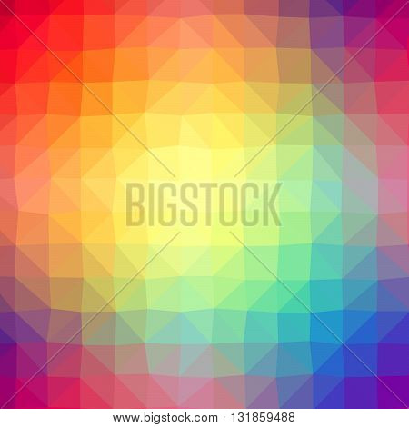 Triangle Polygonal Pattern