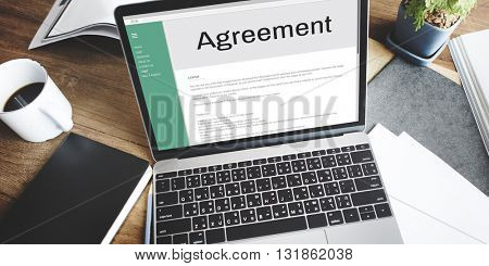 Agreement Alliance Collaboration Deal Partnership Concept