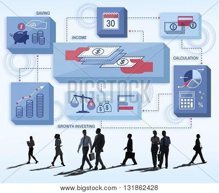 Commerce Corporate Invest Wealth Economy Concept