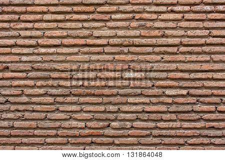 red brown brickwall cement background vintage red brown brickwall cement background.