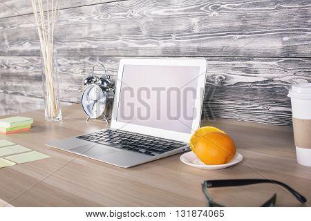 Office Desk Side