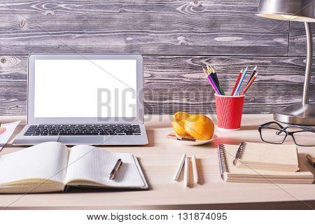 Office Desktop Closeup