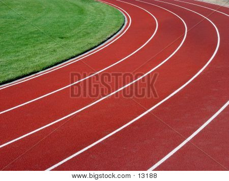 Horizontal Racetrack Background