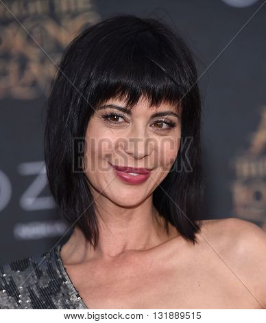 LOS ANGELES - MAY 23:  Catherine Bell arrives to the