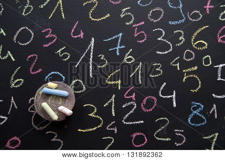Various Colored Numbers