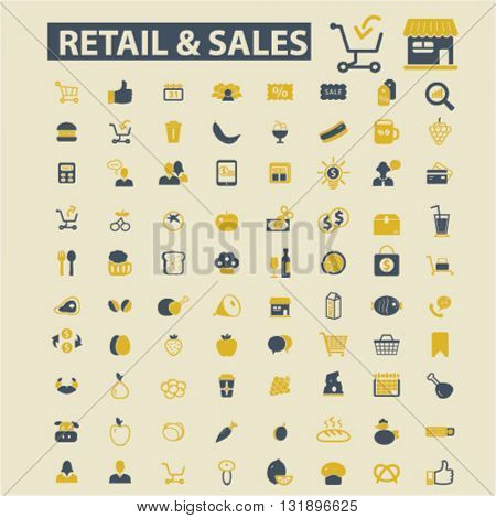retail & sales icons