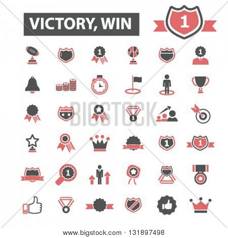 victory win icons