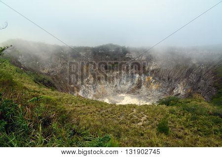 Crater Of Volcano Mahawu