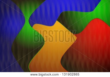 Modern bright colourful abstract background shape illustration