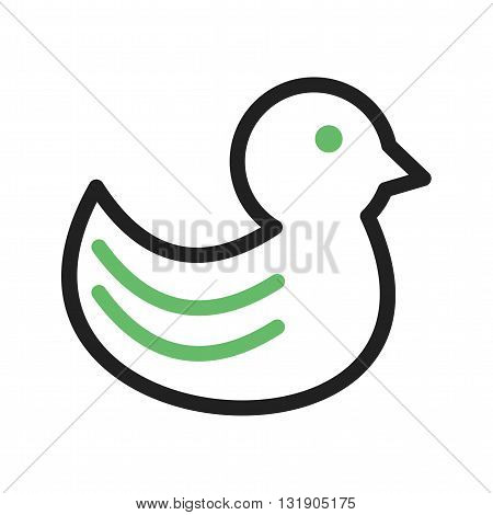 Ducks, beautiful, animal icon vector image. Can also be used for pet shop. Suitable for mobile apps, web apps and print media.