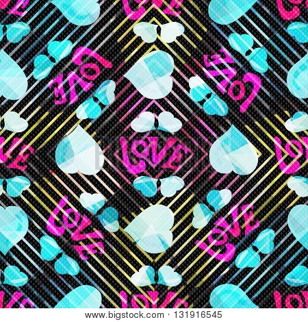 seamless pattern for valentines day vector illustration abstract high quality